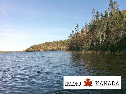 Kanada-Nova-Scotia-Immobilie-Grundstück: 10.650 m² mit eigener Uferfront am Fiddlers Lake, EUR 35.000, PROVISIONSFREI !!!