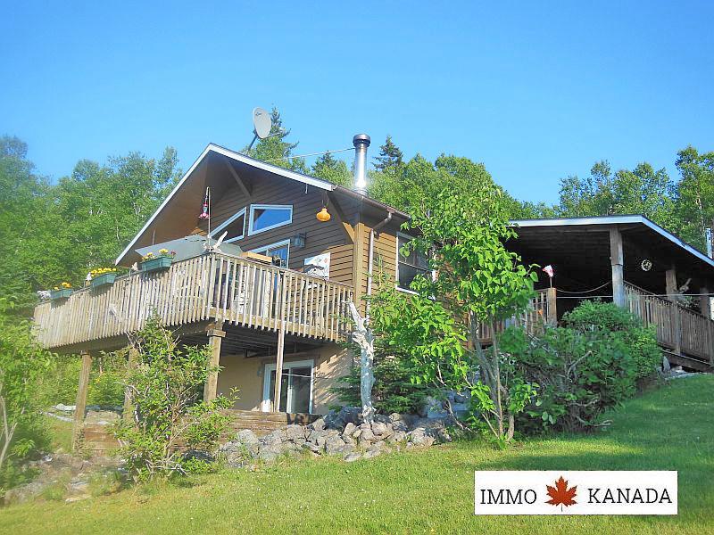 Ferienhaus mit spektakulärem Blick auf den Bras d`Or Lake