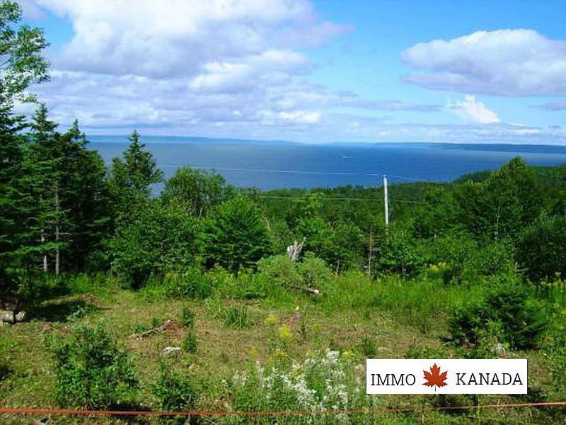 Baugrundstück mit herrlichem Blick auf den Bras d`Or Lake in Cape Breton