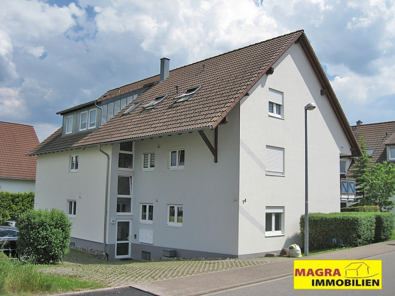 Pfiffige 3-Zimmer-Dachwohnung in Oberndorf a.N.
